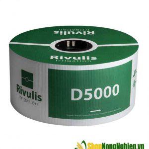 Ống Tưới Nhỏ Giọt Bù Áp Rivulis D5000 Israel